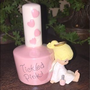 """Precious Moments """"Tickled Pink"""" figurine"""